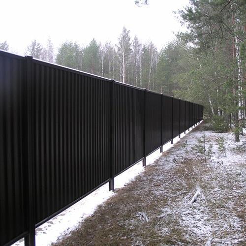 Забор на даче или участке