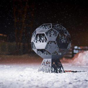 Фото чаша для костра Мяч из металла в Коврове