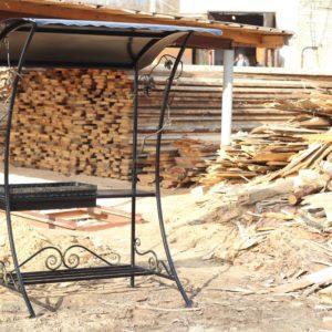 Мангал с крышей для дачи от производителя