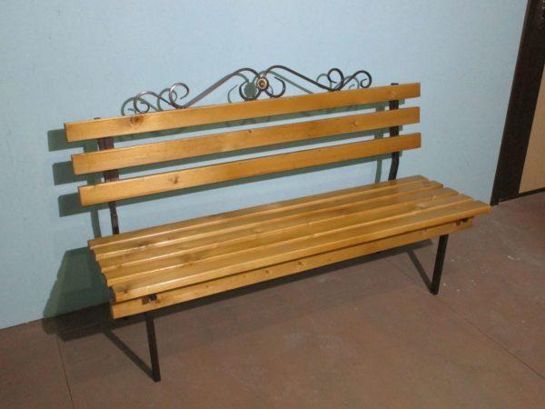 Фото металлическая скамейка Классика от производителя в Коврове цена