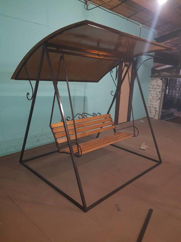 Уличные качели для дачи из металла фото и цена