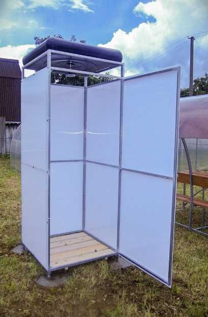Летний душ для дачи с баком и лейкой в Коврове купить