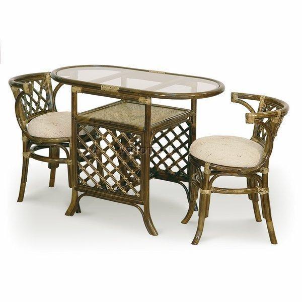 Комплект мебели для завтрака из Ротанга фото и цены Ковров