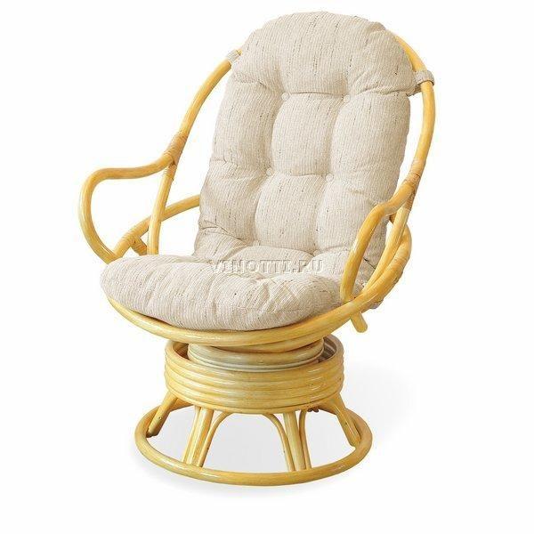 Вращающееся кресло из Ротанга в Коврове фото и цены
