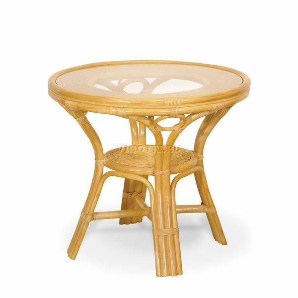 Стол из Ротанга со стеклом фото и цены Ковров
