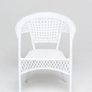 Кресло искусственный РотангWHITE