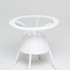 Стол WHITE искусственный Ротанг фото и цена Ковров