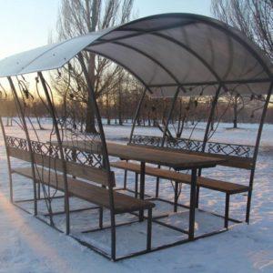 Металлическая садовая беседка Бабочка фото в Коврове