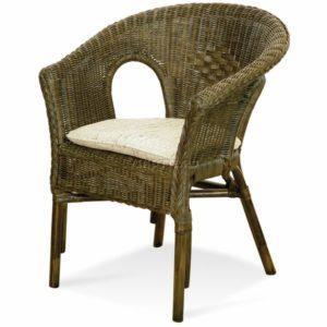Кресло плетеное из Ротанга фото Ковров