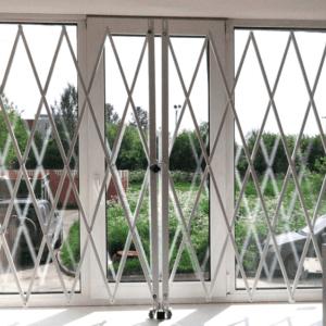 раздвижные решетки на окна Ковров