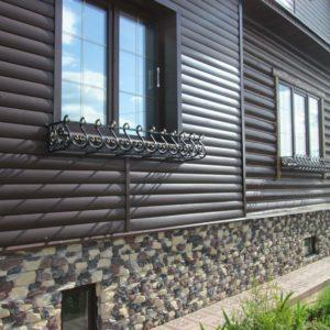 кованые цветочницы на окна уличные фото