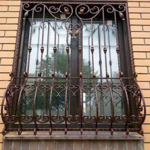 Фото металлические решетки на окна в Коврове