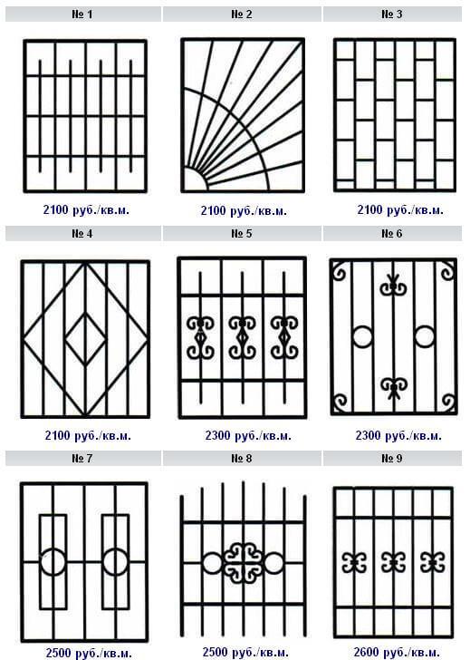 Изготовим и установим металлические решетки на окна в Коврове