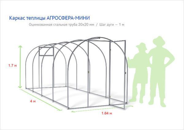 Теплица Мини в Коврове по выгодным ценам от производителя