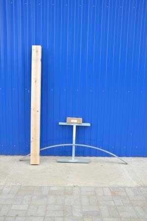 Стол в разобранном виде в Коврове