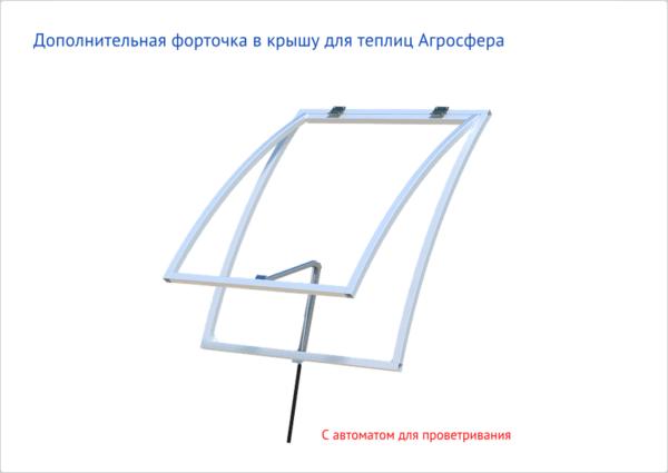 Форточка к теплице «Мини» (97х79см)
