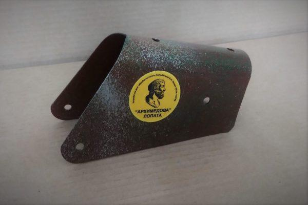 металлический кронштейн для лопаты