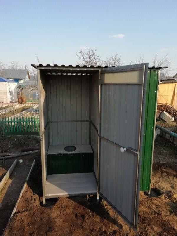 Хозблок и туалет для дачи