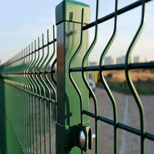 Забор 3д сетка 3D