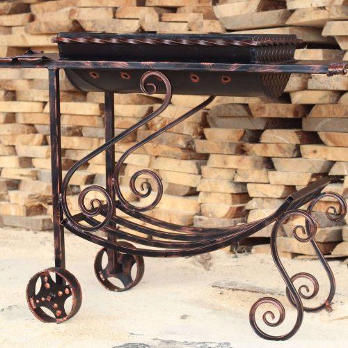 Кованные мангалы из металла для дома и дачи купить